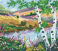 Рисунок на канве для вышивки нитками 81562 Русский пейзаж