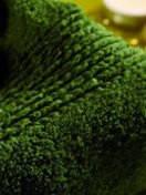 Рушник 100% органічний бавовник GALATA ORGANIC 50х76 смарагдове, фото 1