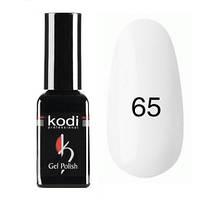 Гель-лак Коdi №65 (цвет слоновой кости, полупрозрачный, молочный) 8 мл