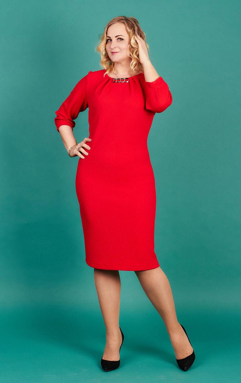 21281827599 Купить Женское платье с люрексом для полных женщин 263043605 ...