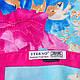 Великолепный атласный женский шарф 174 на 94 см. ETERNO (ЭТЭРНО) ES1405-7-1, фото 3