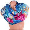 Великолепный атласный женский шарф 174 на 94 см. ETERNO (ЭТЭРНО) ES1405-7-1