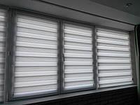 Тканевые ролеты / жалюзи на окна день ночь
