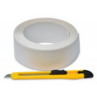 Лента-бордюр для ванн + нож  Favorit, 28 мм х 3,2 м