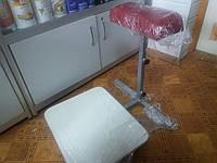 Педикюрная подставка раскладная на колёсиках