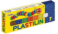 """Пластилин """"Детский""""  7 цветов"""