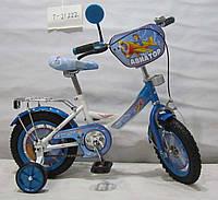 детский трехколесный велосипед 14 дюймов Авиатор