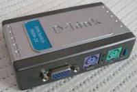 Коммутатор KVM D-Link DKVM-2K бу