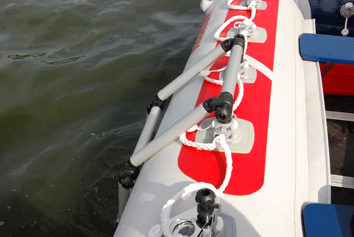 Лестница для лодки пвх своими руками 183
