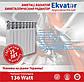Биметаллический радиатор EKVATOR 500/76, фото 2