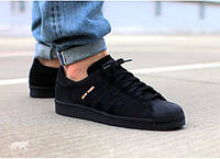 Мужские кроссовки Adidas Superstar 80s City Pack Black New York 41