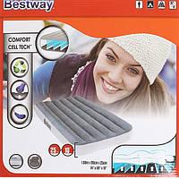 Bestway велюр-матрас 67539(188*99*25,см)