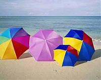 Немного о пляжных зонтиках