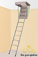 Чердачная лестница «Bukwood» ECO Metal 800x600x2650, Харьков