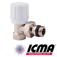 Icma 951 вентиль радиаторный 3/4 угловой верхний