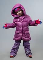 Зимние детские куртки на девочек