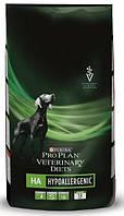 Лечебный корм для собак при пищевой аллергии Purina Veterinary HA Hypoallergenic Canine