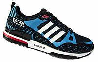 """Кроссовки мужские """"Adidas ZX750. Flyknit"""". Синие  (Кросівки чоловічі Адідас / Адидас)"""