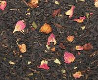 Земляника со сливками - чёрный ароматизированный чай 50 г