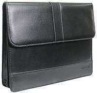 Мужская папка для документов из искусственной кожи 4U Cavaldi PB0805 черная