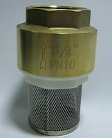 """Обратный клапан с фильтром (1 1/4"""")"""
