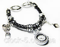 Часы-браслет Pandora белая, черная, кварцевые часы