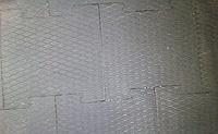 Цельнолитые напольные резиновые пластины