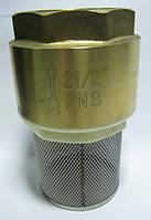"""Обратный клапан с фильтром (2 1/2"""")"""