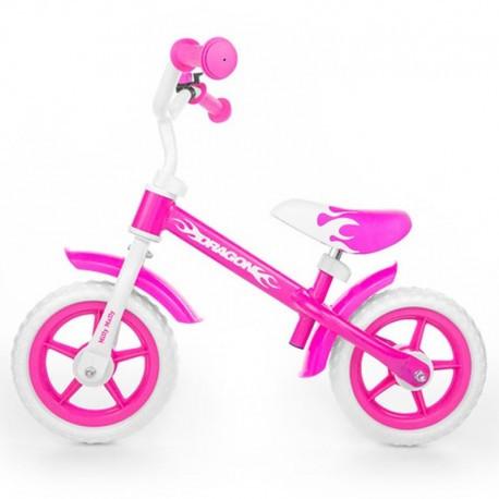 """Беговел Milly Mally Dragon Pink - Интернет-магазин игрушек """"Parktoys-парк игрушек"""" в Днепре"""