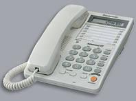 Проводной телефон Panasonic KX-TS2365RUB чёрный  бу