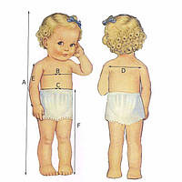 Как выбрать комплект для крещения по размеру ребенка правильно?