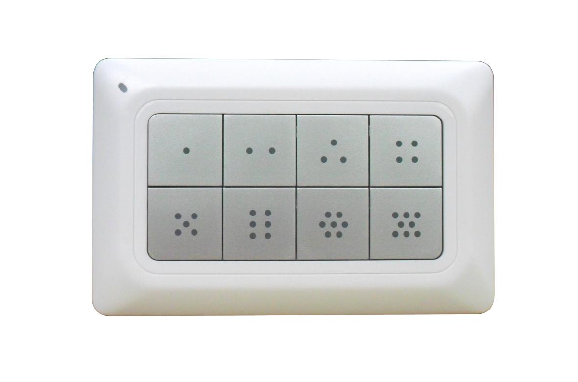 Пульт контроллер настенный Z-Wave Plus Remotec - REMEZRC90