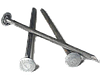 Гвозди шиферные 5,0*120 мм с металлической оцинкованной головкой