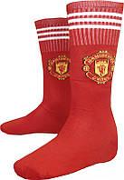 Гетры футбольные детские ФК Манчестер Юнайтед р-р 32-38 Красные