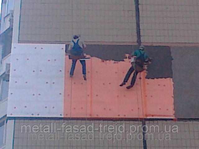 Опасные профессии - промышленные альпинисты