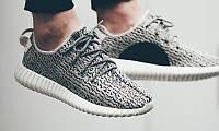 Кроссовки Adidas yeezy boost 350 Gray  42