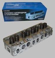 Головка блока Газель,УАЗ двигатель 4216,4213 евро 2 (инжектор) с клапанами, прокладкой,крепежем (пр-во УМЗ)
