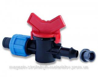 Кран стартовый для капельной ленты с уплотнительной резинкой (SL-003)