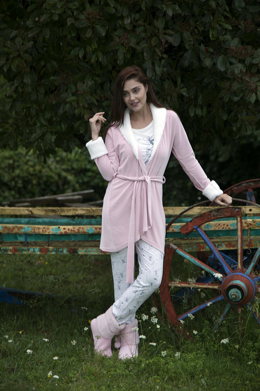 Красивий жіночий костюм-трійка для дому  HAYS 5121