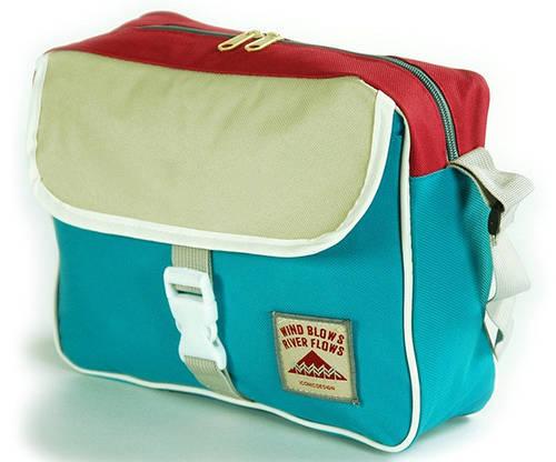 Молодежная мужская наплечная сумка Traum 7150-01