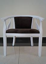 Кресло Монарх из натурального дерева , фото 2