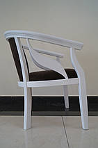 Кресло Монарх из натурального дерева , фото 3