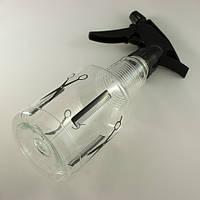 Пульверизатор парикмахерский пластиковый прозрачный, объем 230мм
