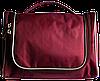 Дорожный органайзер для косметики Premium (винный), фото 2