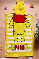 Полотенце-пончо детское , фото 1