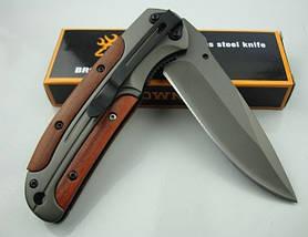 Складной нож Browning DA43, материал, твердость 57 HRC, нож Браунинг, Нож Browning DA43 раскладной, карманный,, фото 3