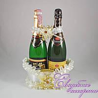 Корзинка для шампанского №4 (цвет  айвори)