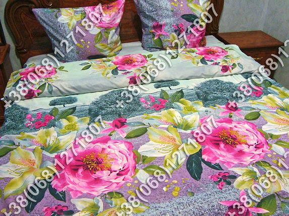 Постельное белье ранфорс - двуспальный комплект (0879), фото 2