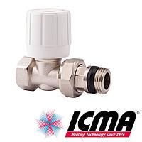 Icma 954 вентиль радиаторный 1/2 прямой верхний