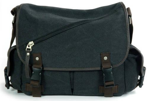 """Деловая сумка с отделением для ноутбука 14"""" Traum 7155-01 черный"""